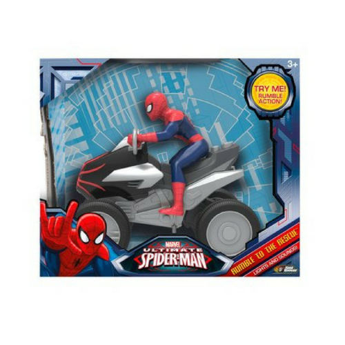 rumble to the rescue spiderman