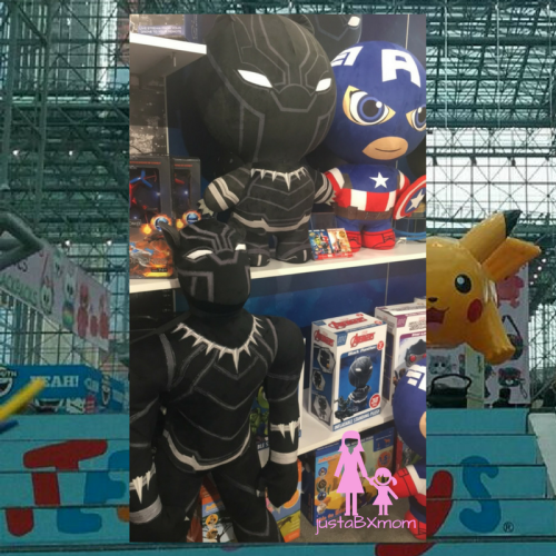 black panther, captain america, marvel, dgl toys, inflatamals, inflate-a-mals