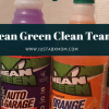 mean green, cleaning products, spring cleaning
