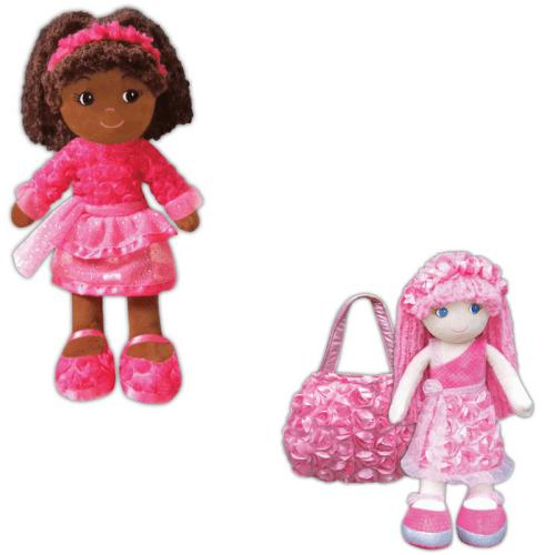girlzndolls, fabric dolls, soft dolls, yarn hair dolls
