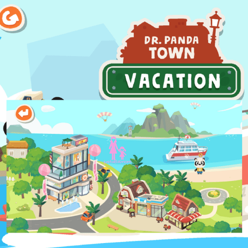 dr panda, dr panda vacation, kids apps