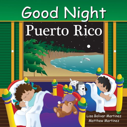 goodnight puerto rico, baby books, board books