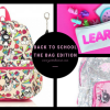 backpacks, bookbags, back to school, fun, bright, colorful, kids backpacks, lunch bags, kids fashion