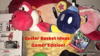 nintendo, easter, easter basket, yoshi, kirby