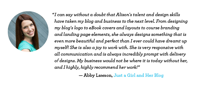 Abby Lawson-Just a Girl and Her Blog