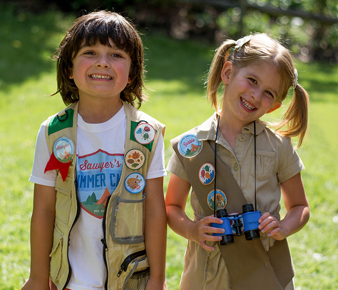 best friends, Merit Badges, Summer Camp birthday, camping, s'mores, kids party, lanterns, trail mix, camping party, summer camp party