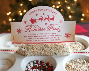 Reindeer Food with Recipe and Bag Topper free printable
