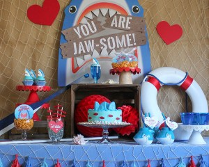 You Are Jaw-some Valentine's Day Party