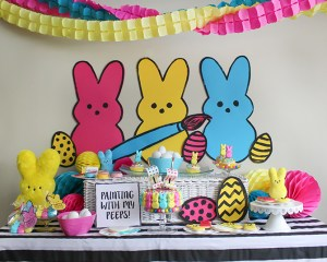 Painting With My Peeps: Egg Coloring Easter Party