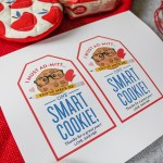 """I Must Ad-mitt...You've Made Me One Smart Cookie!"" Teacher Gift Idea, teacher appreciation, smart cookie, oven mitt gift idea, oven mitt teacher appreciation, smart cookie teacher appreciation, cookie mix teacher appreciation, Just Add Confetti, Just Add Confetti printables, free printable, end of the school year gift, teacher gift, teacher gift idea"