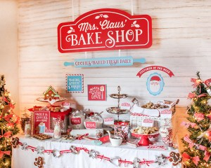 Mrs. Claus' Bake Shop Cookie Exchange Party