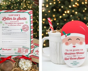 Letters to Santa and Hot Cocoa Gift Idea