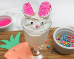 Ice Cream in a Bag Easter Bunny Treat
