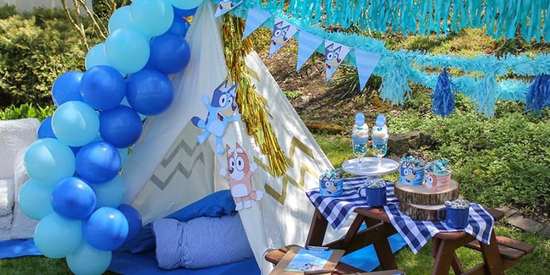 Bluey Backyard Birthday Celebration