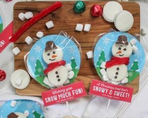Snow Globe Christmas Treat
