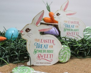 Easter Bunny Lollipop Gift Idea