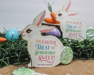 Easter Bunny Lollipop Gift Idea