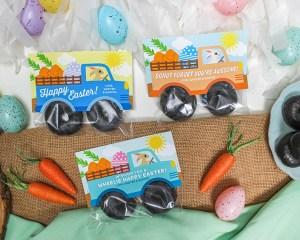 Bunny Truck Donut Easter Treat