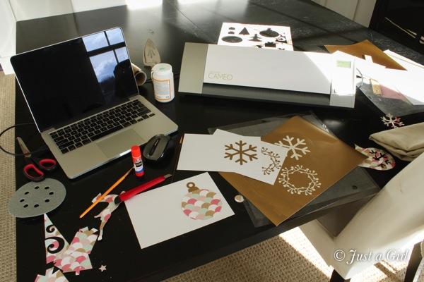 How to make Christmas cards