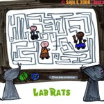 Webcomic: Like Rats in a Maze