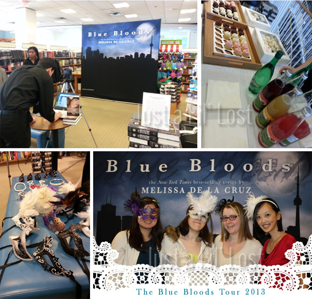 A fun dress-up photo op | Delicious cupcakes & sparkling beverages | Playing dress-up | Our Blue Bloods cover!
