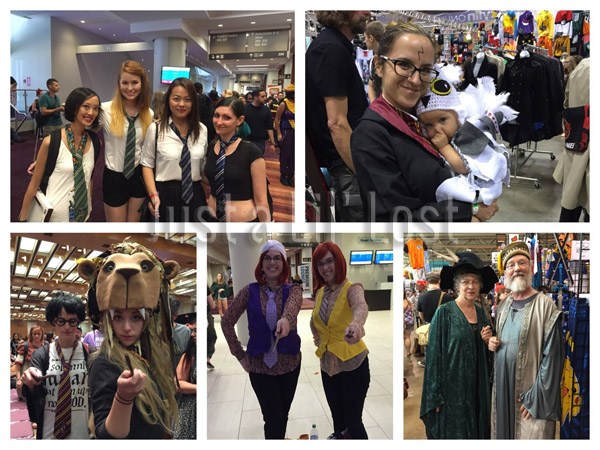 Some of the awesome Hogwarts costumes I saw throughout the weekend!