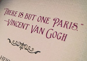 Technically a quote from Van Gogh, but it's from the book The Paris WInter by Imogen Robertson