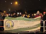 Anti-Pegida-Demo in Berlin-Hellersdorf