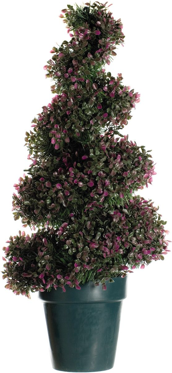 Artificial Heather Topiary Leaf Spiral Tree Just Artificial
