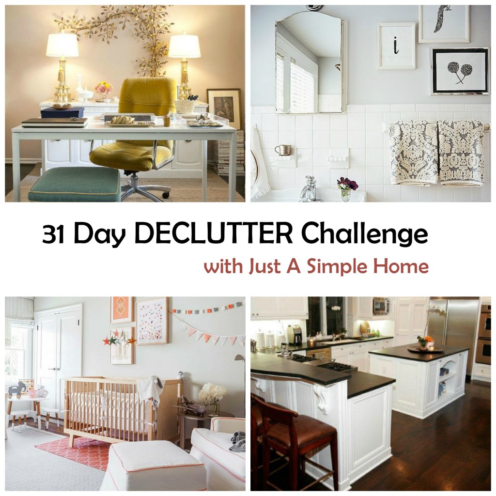 Declutter Challenge Simple Home