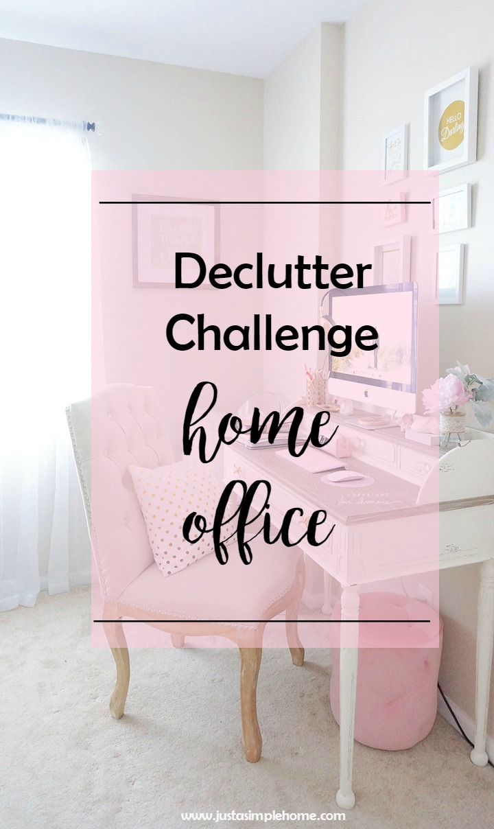 Declutter Challenge Home Office