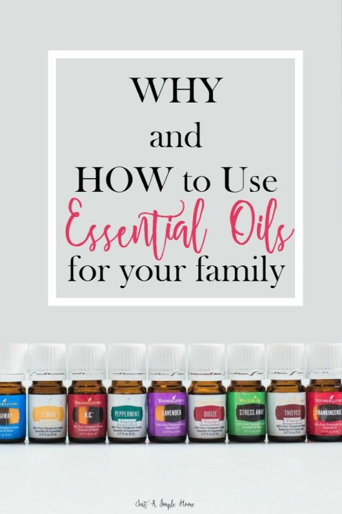 Why and How to Use Essential Oils - JustASimpleHome