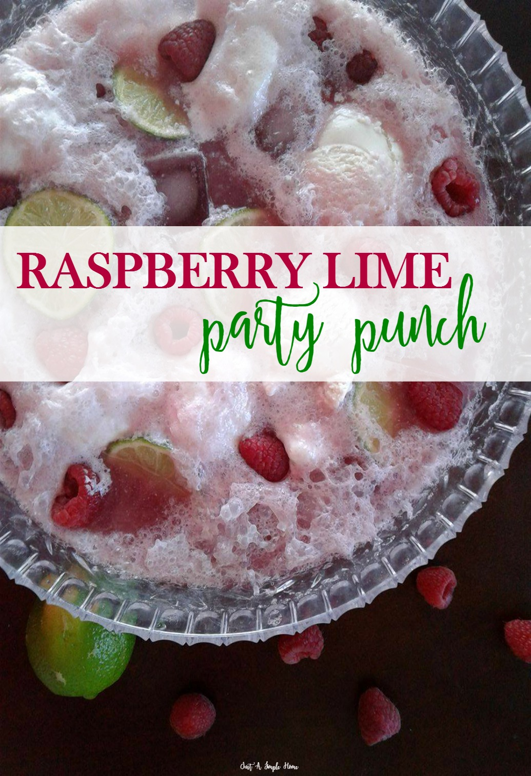 Raspberry Lime Party Punch