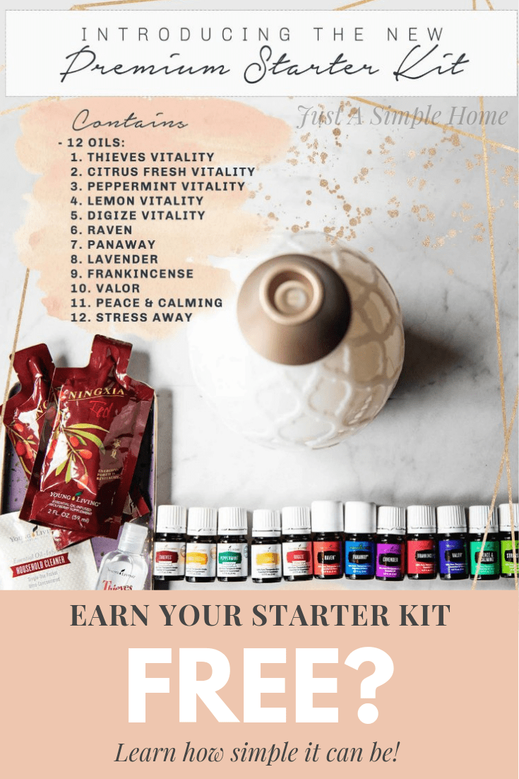 Learn how you can easily earn your Essential Oils kit for free! Essential oils have changed my life and the lives around me. I can help you earn your kit and have some extra money in your pocket for your family. #essentialoils #freeessentialoils #naturalliving #naturalhealth #cleanliving #workfromhome