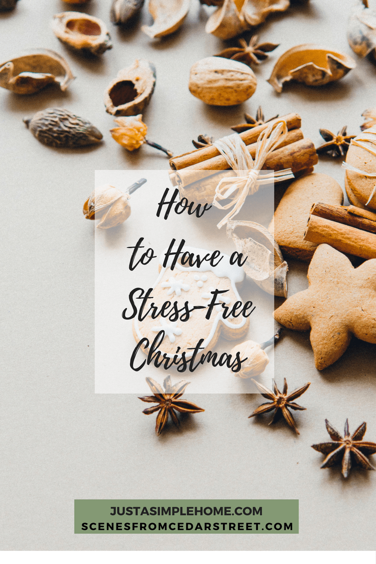 How To Have a Stress Free Christmas Season- tips to help you savor the season with your family.
