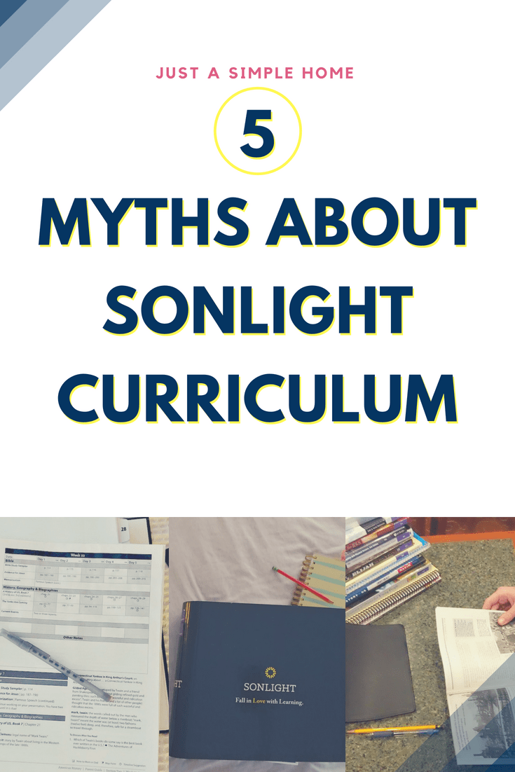 5 Myths About Sonlight Curriculum - too expensive? Time consuming? #homeschool #sonlight #homeschoolcurriculum sponsored