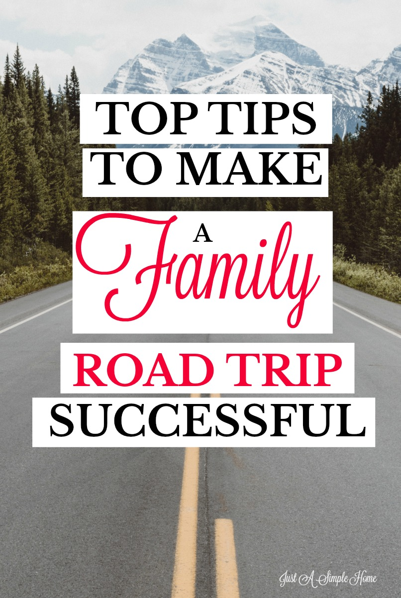 Amazingly helpful tips to make your next family road trip a success! From packing tips to games, this post if full of tips! #familytravel #roadtrip #familyvacation