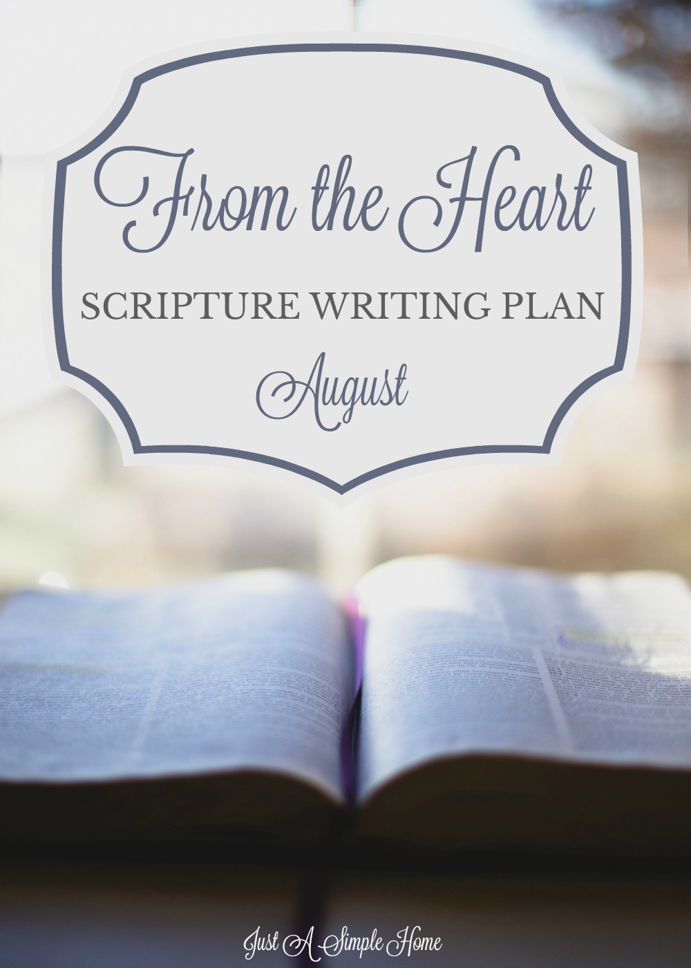 A beautiful Scripture Writing Plan about Waiting On Good. This plan is for August and we will dig into the Scriptures together and meditate on what it really means to wait on the ord. #scripturewriting #biblestudy #scriptureplan