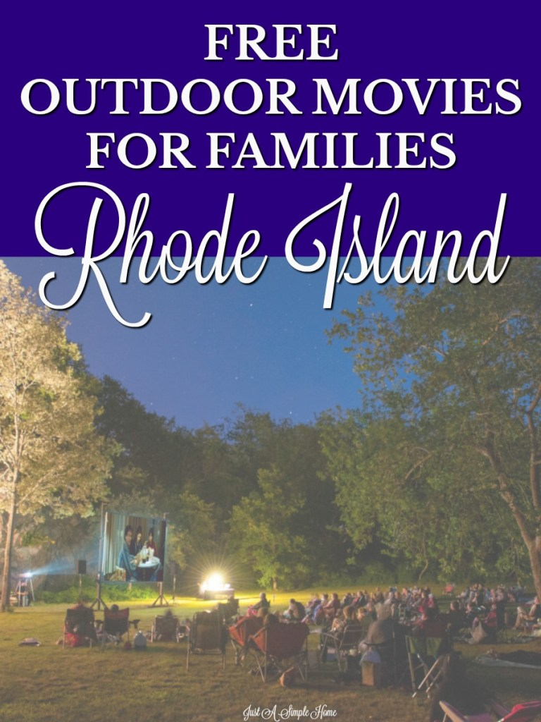One of the best things about summer is all the free fun! Rhode Island has some great summer fun for families! Check out these free outdoor movies for your family this summer! #rhodeisland #summerfun #freefamilyevents #summerbucketlist #familytravel