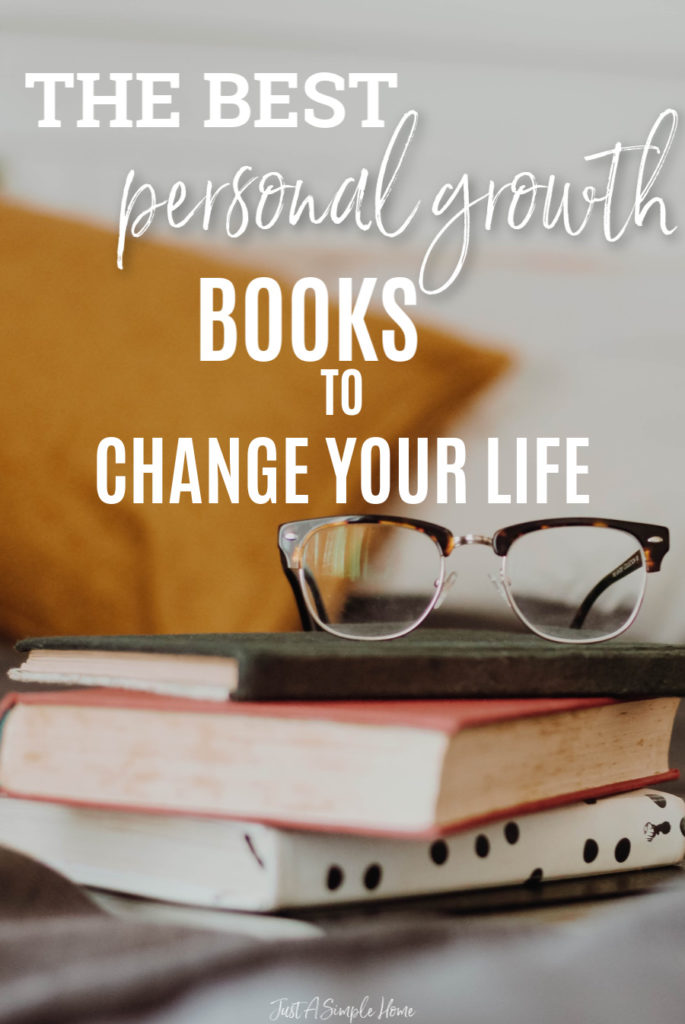 A huge list of some of the best personal growth books that will have a huge impact on your life! Pick just a few of these personal development books this year and watch yourself grow and change as a person and business owner! #personalgrowth #booklist #personaldevelopment #booklist2019 #wahm #directsales