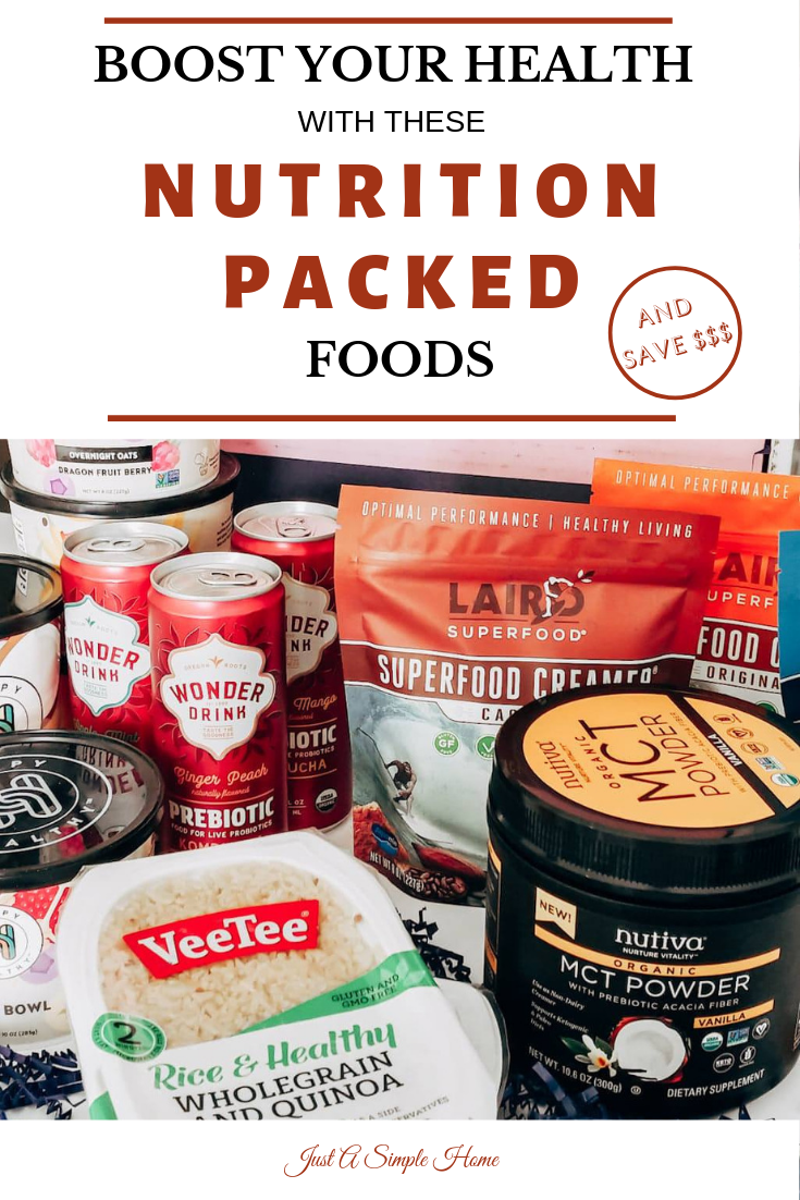 Boost Your Health with these Superfoods! Special Offers available too! #sponsored #healthyliving #keto #coffee #health