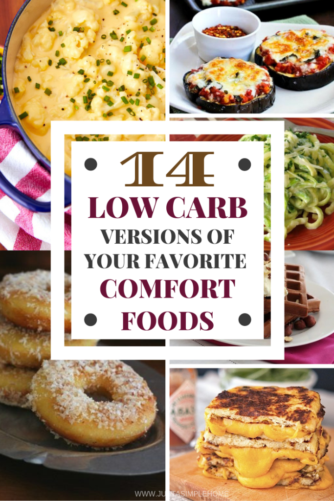 Low Carb versions of your favorite Comfort Foods - Keto Comfort Foods #keto