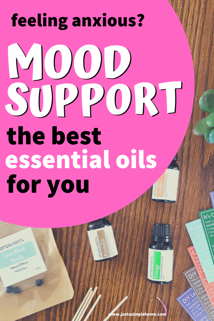 Essential Oils for Mood Support