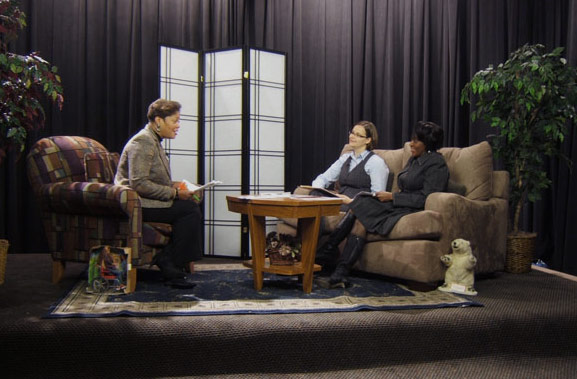 On the Set with Just Ask Talk Show