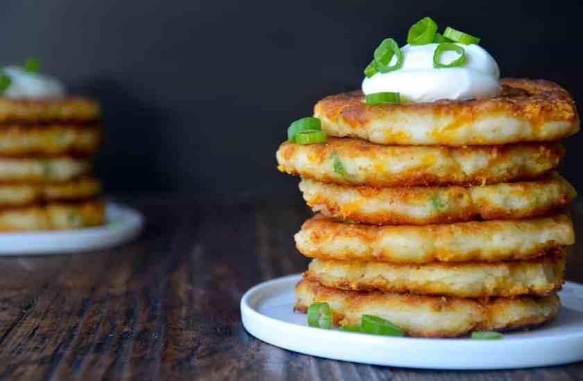 Резултат со слика за How to make cheesy potato cakes