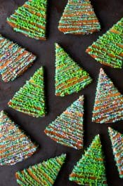 Christmas Tree Shortbread Cookies Recipe