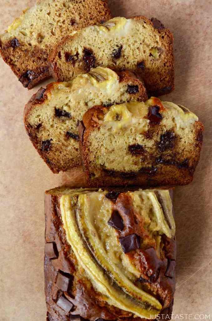 Sour Cream Banana Bread   Just a Taste