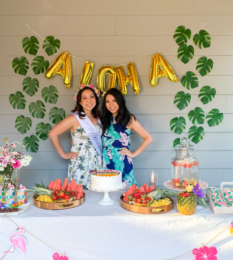 A Colorful And Tropical Bridal Shower For My Bridesmaid Just A Tina Bit