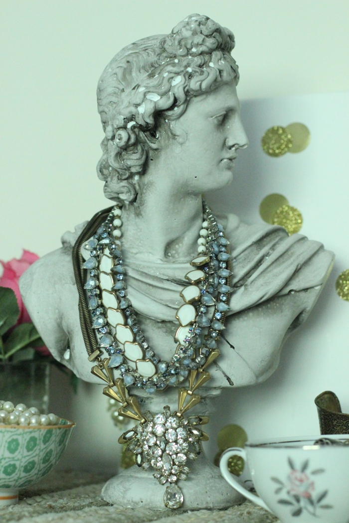 Bust Statue Necklaces