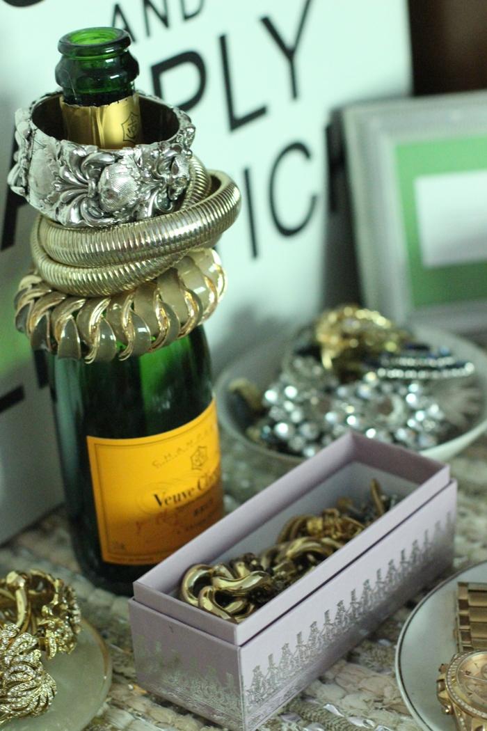 Champagne Bottle Bracelet Laudere Box Jewelry